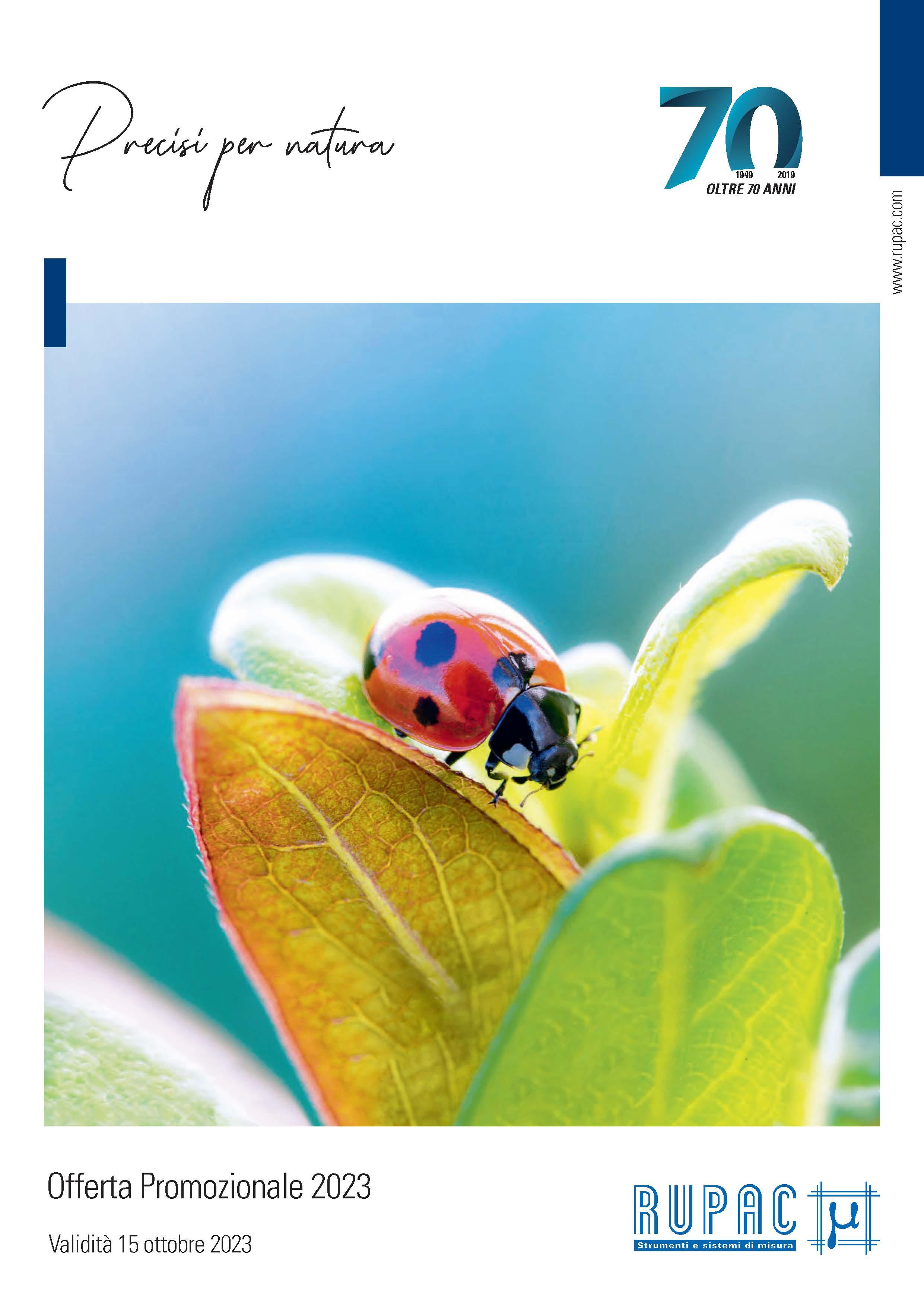 opuscolo promozionale